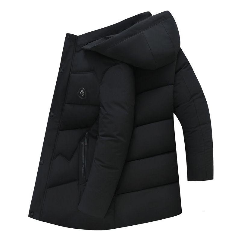 и старое зима повседневная пальто длинного мужского моряка середина в возрасте папа вниз мягкий джа