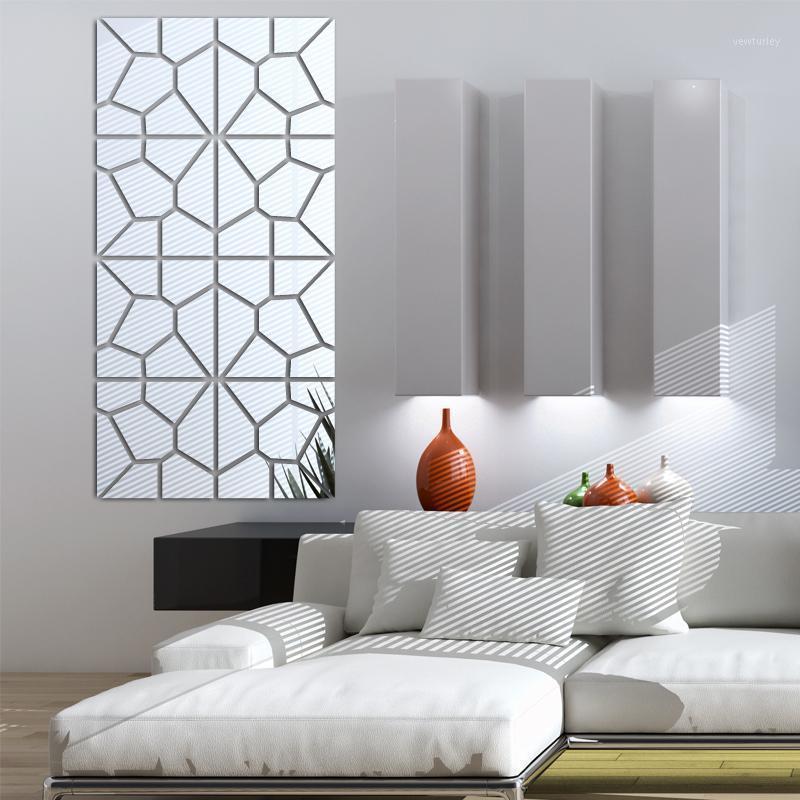 2020 Nuovi Adesivi murali Living Home Decor Moderno Acrilico Modello Acrilico Modello di moda grande grande adesivo da parete 3D fai da te vero trasporto libero1