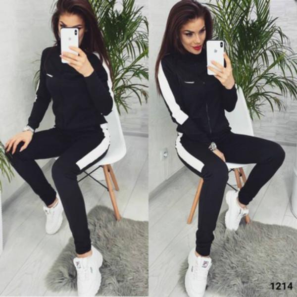 Haken Tracksuits lange Hülse der Frauen zweiteiliger Anzug Frauen Printed Sportbekleidung Anzüge Womens 2020FW Lässige Kleidung Set Sport Style