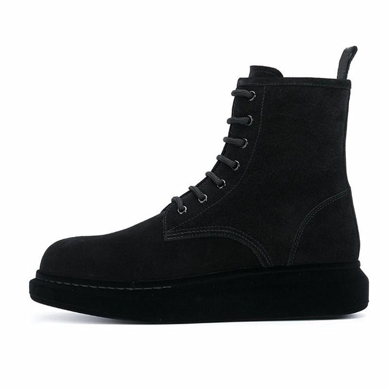 Мужчины сапоги натуральные кожи удобные военные сапоги платформы обувь 2020 16 # 20 / 20d50