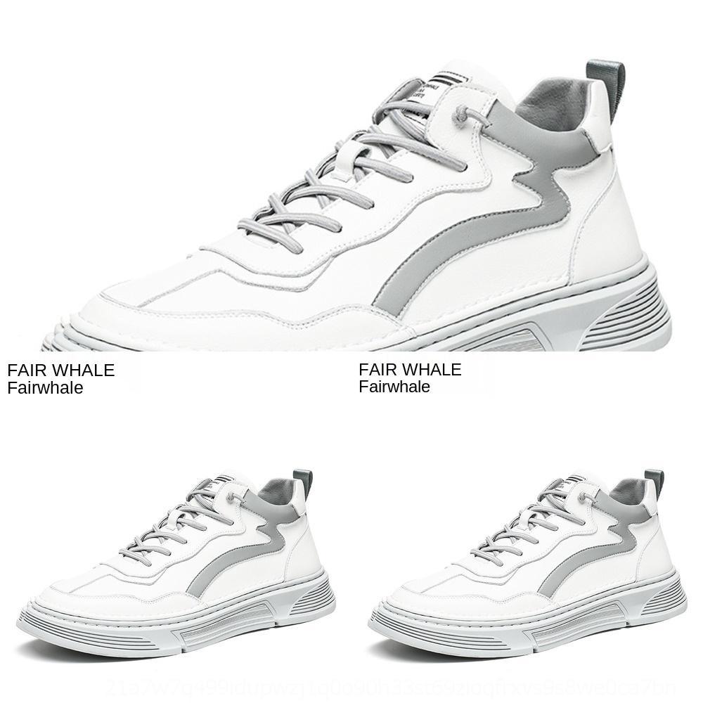 I0wPT Mark Huafei Brett hoch Herbst hoch oben beiläufige kleine weiße Männer Korean Mode Brettschuhe der Männer vielseitig Schuhe