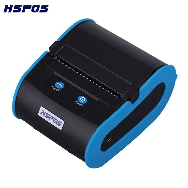 안드로이드 시스템에 대한 무료 배송 새로운 OEM 3 인치 휴대용 80MM 열 휴대용 라벨 프린터