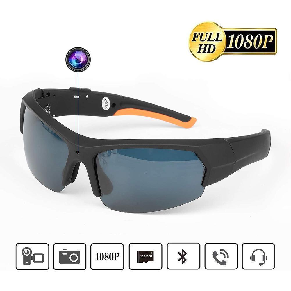 Óculos de sol Camera X8 Bluetooth 4.1 polarizado Built-in 32GB HD 1080p Outdoor Sports equitação Digital Óculos