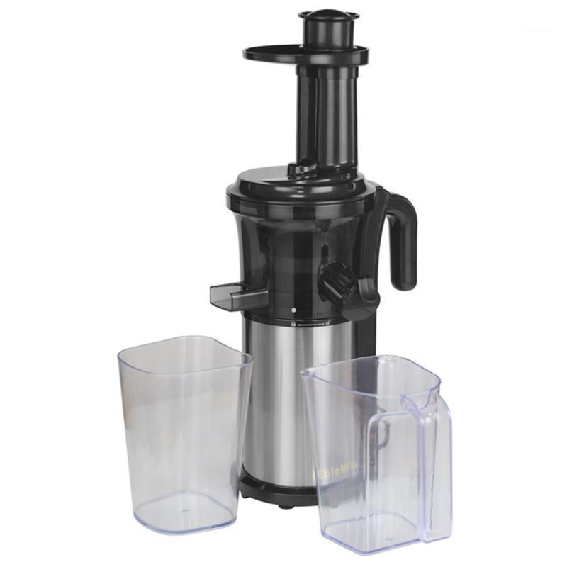 200W 40RPM Masticación de acero inoxidable Masticación lenta Juicer Fruta y jugo de vegetal Extractor Compacto Cold Press Juicer Machine1