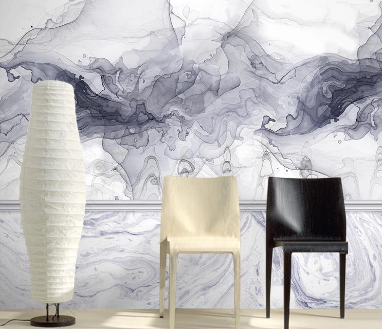 Пользовательские европейские чернила пейзаж 3d обои для стен спальня отель гостиная фон фон бумаги домашнего декора
