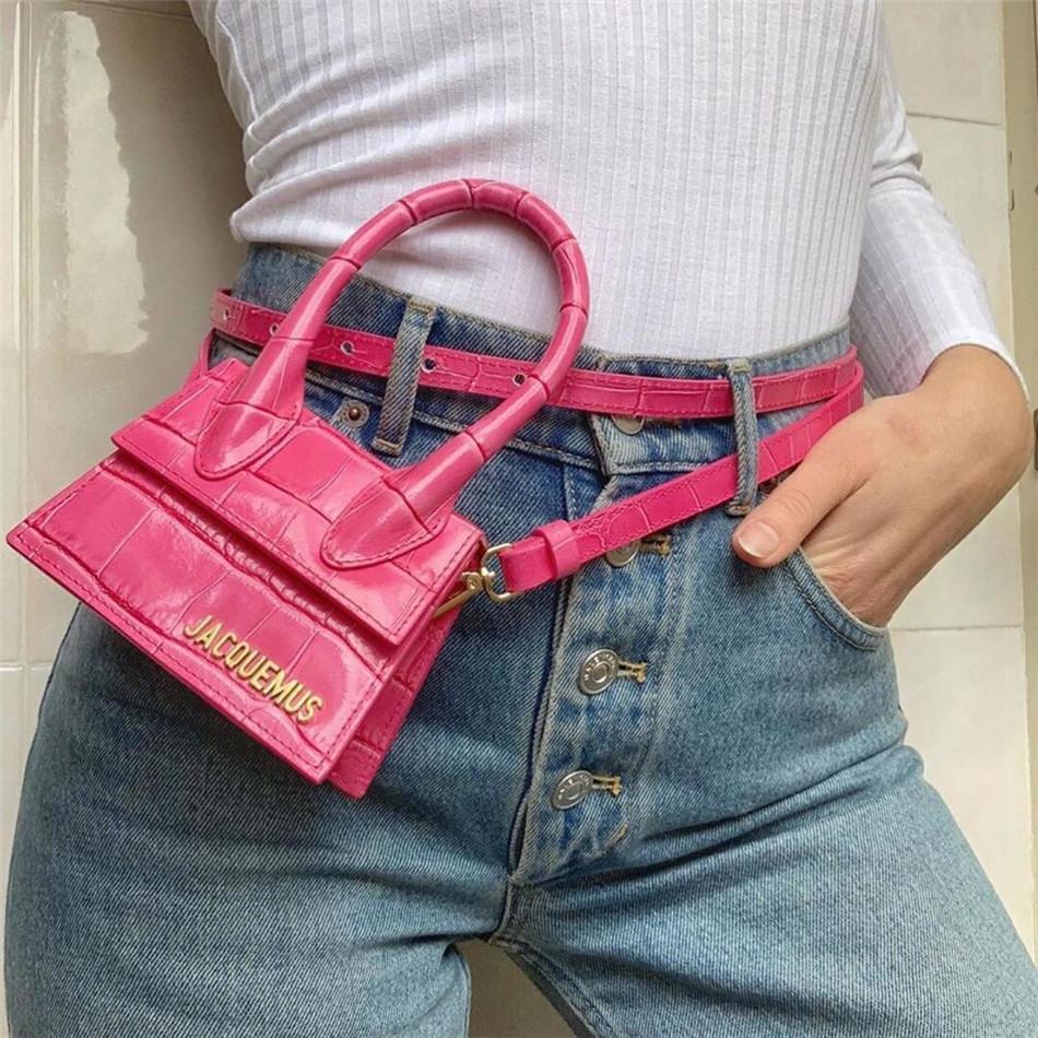Mode PU Sacs à main en alligator pour les femmes, la célèbre marque, 2 tailles