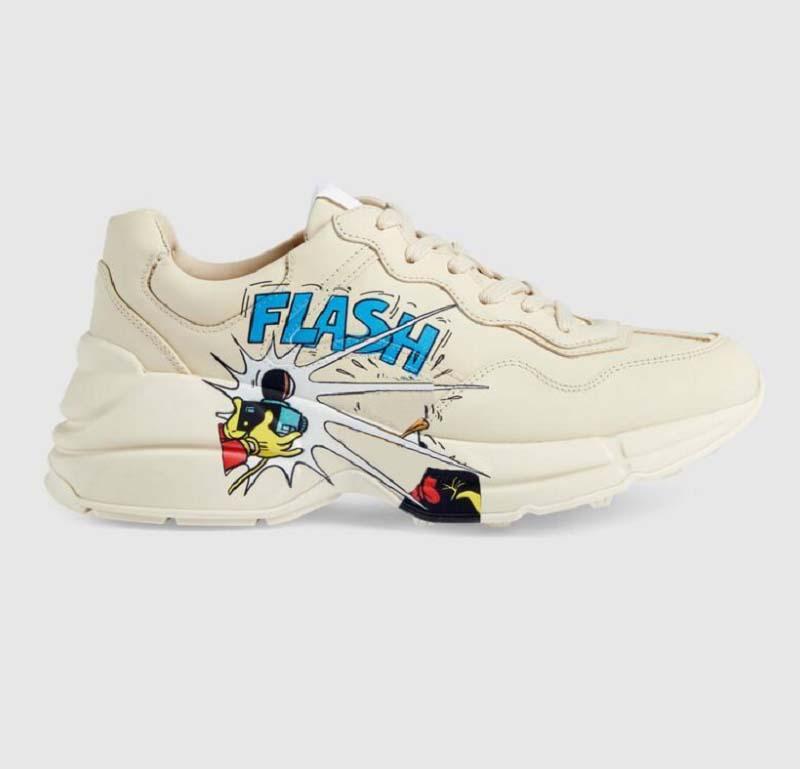 Sneaker de haute qualité Sneaker Hommes Femmes Chaussures avec une onde à la fraise Tiger Tiger Web Imprimer Trainer Vintage Trainer Chaussures Casual Home011 01