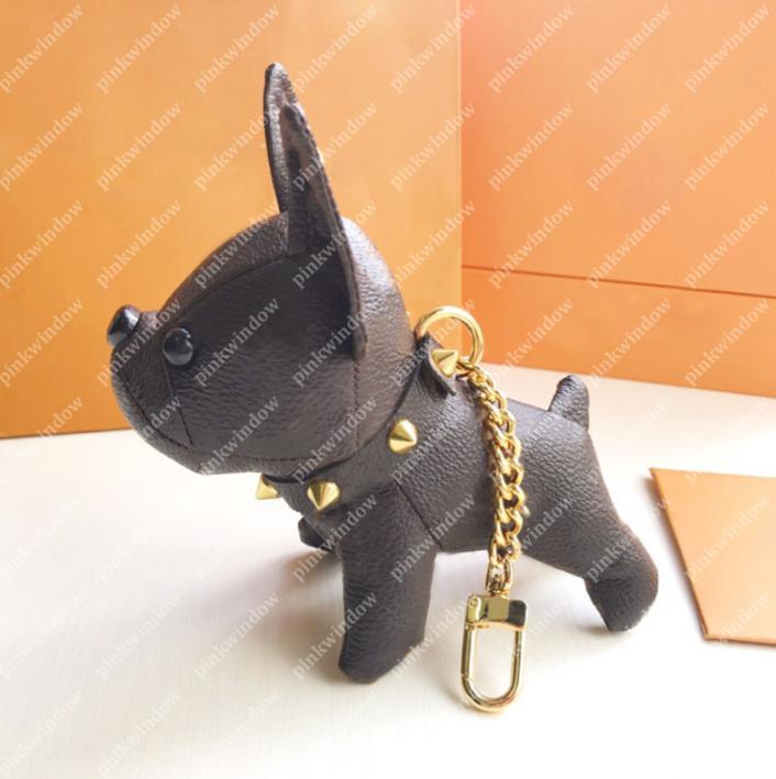Sevimli Anahtarlık Bulldog Anahtarlıklar Lüks Tasarımcılar Anahtarlık Araba Anahtarı PortachiaVi Anahtarlık Cato Gram Llavero Porte Clés Çanta Charms 20121901L