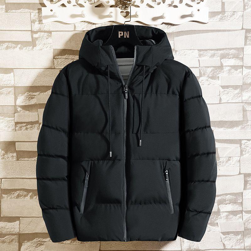1 мужская пальто 2020 новая короткая корейская версия горячая осень зима теплая хлопка мягкая куртка для мужчин