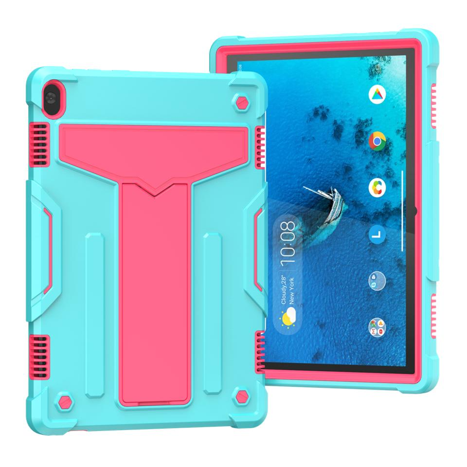 for iPad 10.9 11 10.2 10.5 T500 HUAWEI T8 C3 8.0 T5 10 Kindle Fire HD 8 Tab M10 X605 Military Extreme Heavy Duty silicone pc shockproof case