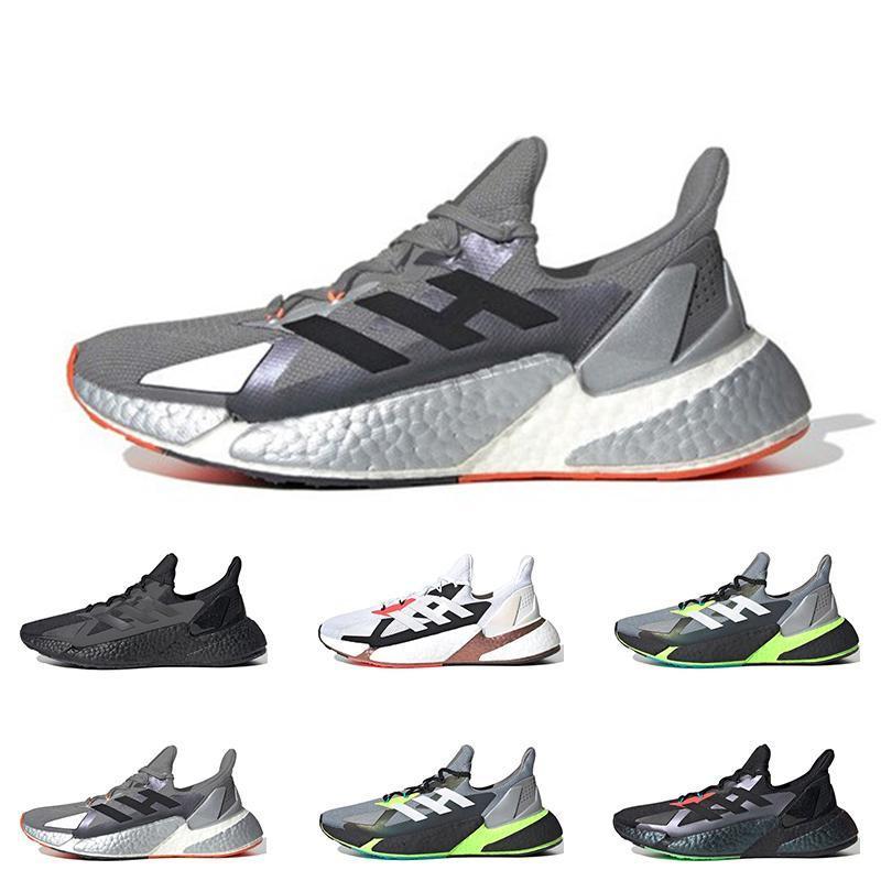 ملونة أعلى جودة الأحذية X9000L4 رجل باسف رمادي ستة ولدت الرجال السود الثلاثي الرياضة في الهواء الطلق أحذية رياضية المدربين الأزياء تنفس