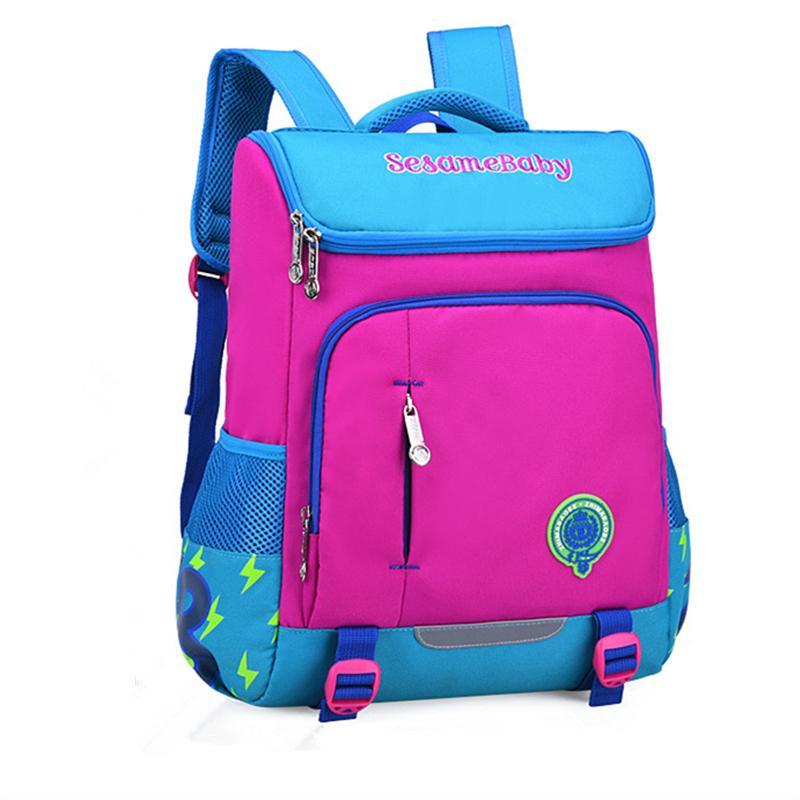 Bolsas ortopédicas frescas y encantadoras para niños para niños que cose las mochilas lindas de la mochila a prueba de agua ligera