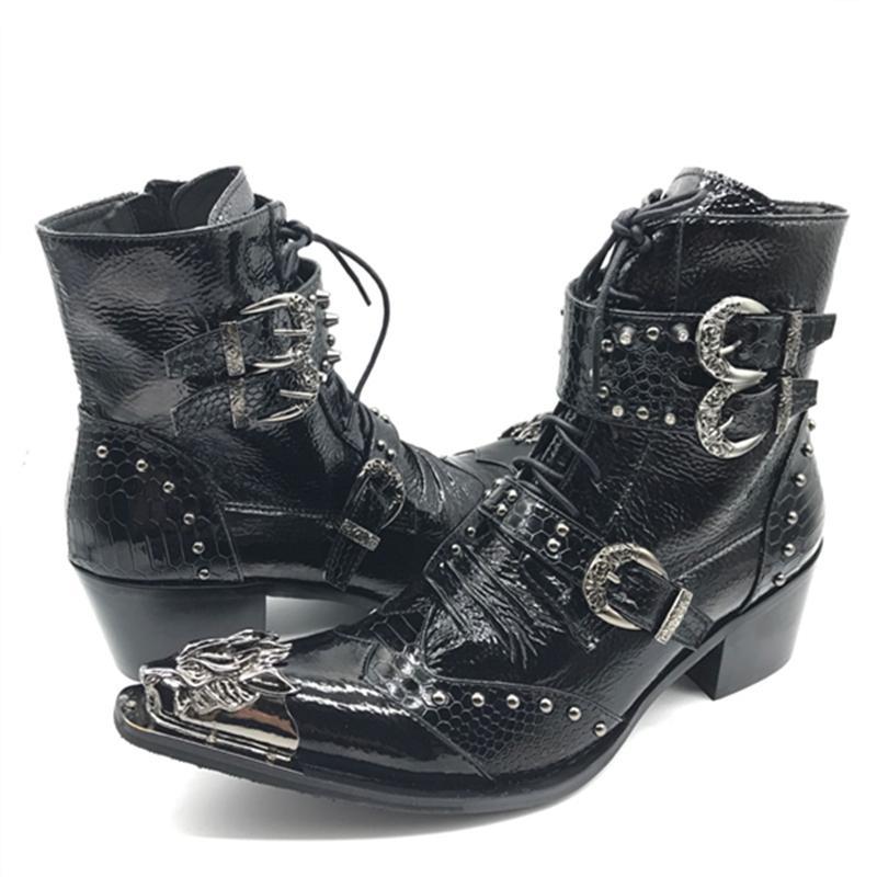 2020 резиновые ботинки высокого качества кожаные сапоги H9S6