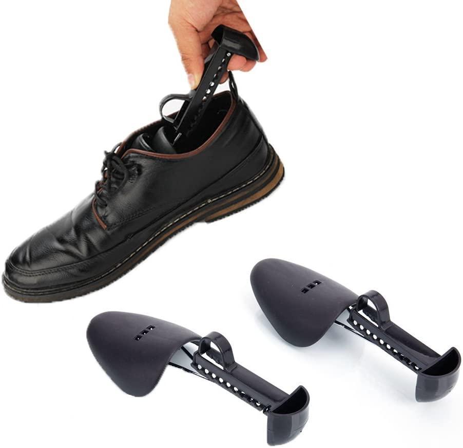Scarpe Tree Shoe Cura Cura Pratica Portatile Portatile da viaggio Shoe Breene Titolare regolabile Lunghezza Uomo Shoe Blewner Holder Shaper Support