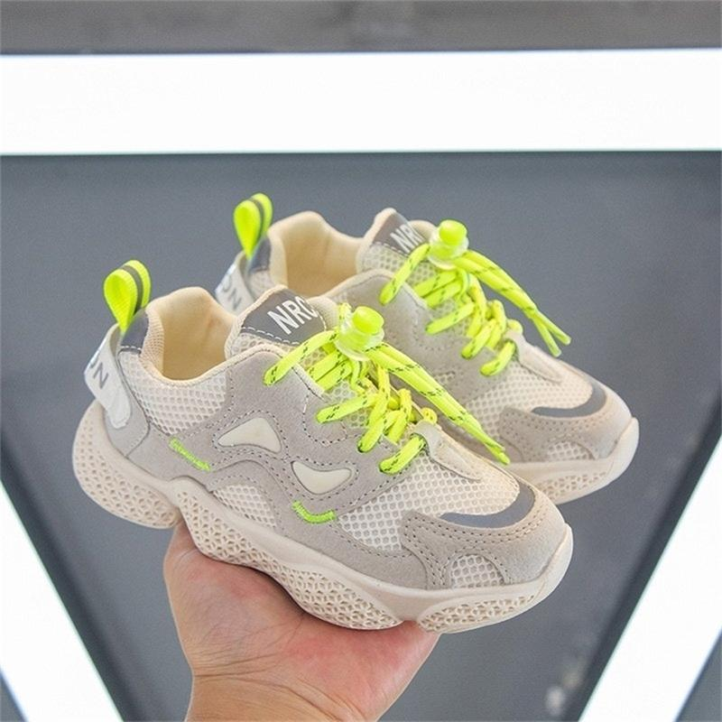 Summer Children's Sneakers Kids Shoes For Boys Girls Fashion Casual Children Girls Shoes Boys Sports Running Shoes 201224