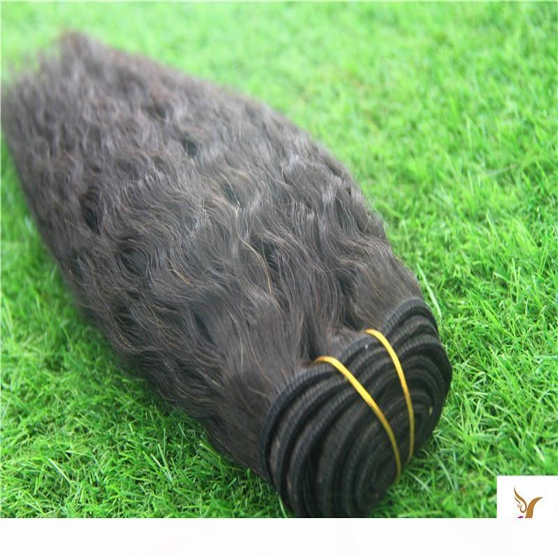 Black Brasilian Yakin Straight Wave Bundles Capelli Extensions 100% Remy Human Hair Capelli Tessuti Bundles 30 32 40 pollici