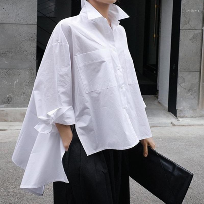 Mujer Blusa blanca1