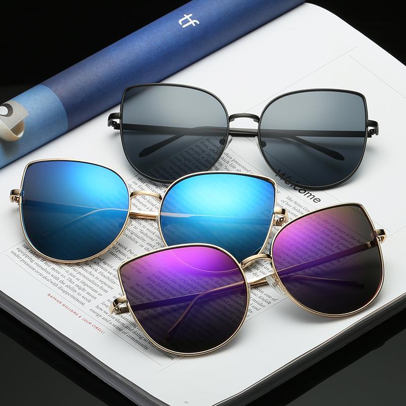 Солнцезащитные очки 2021 старинные мужские квадратные металлические рамки классические ретро солнцезащитные очки женщин роскошные летние очки UV400 9-BLS3449