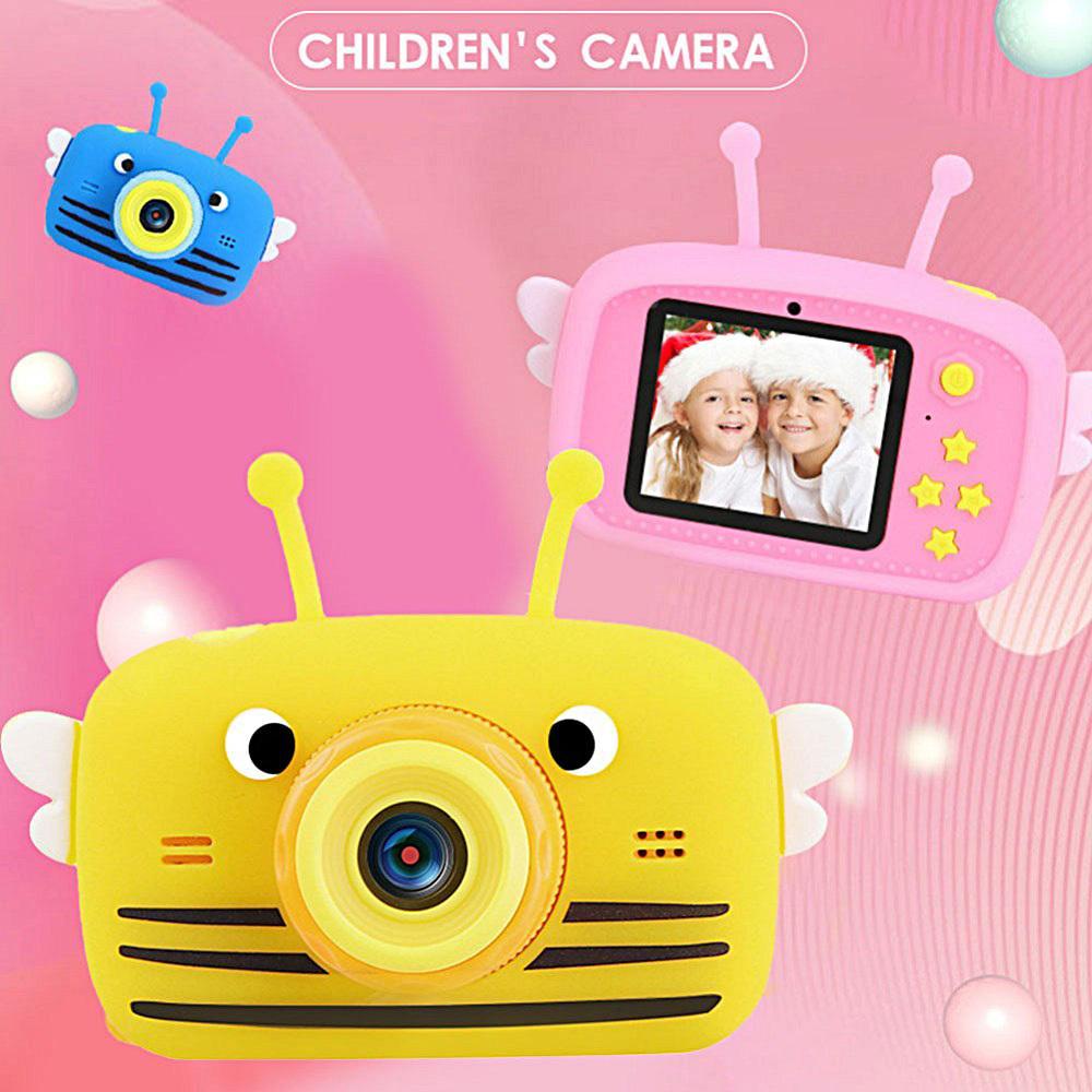 X9P Kinder Kamera Spielzeug Kid Digitalkamera Kinder mini nette Videokamera 2,0-Zoll-Bild aufnehmen 1080P HD-Jungen-Mädchen-Geburtstags-Geschenke 201004