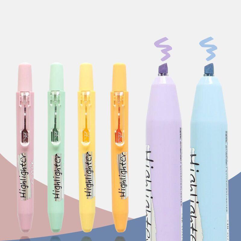 الهياجينات minkys morandi اللون الصحافة نوع تمييز القلم diy كتابات الفن الرسم الرئيسية الكلمات ماركر مدرسة الفلورسنت القرطاسية 1