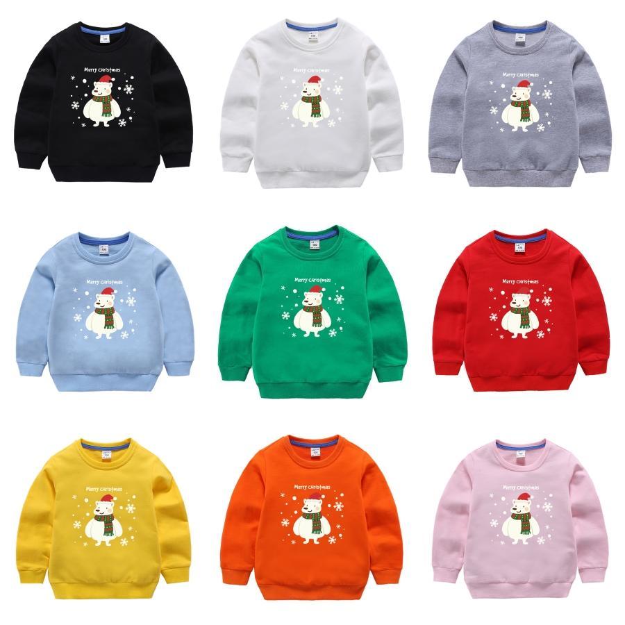 Рождество Вязаные Длинные рукава по уходу за детьми Свитера Зимняя одежда 2020 Япония Стиль Casual Standard Designer Пуловеры # 883
