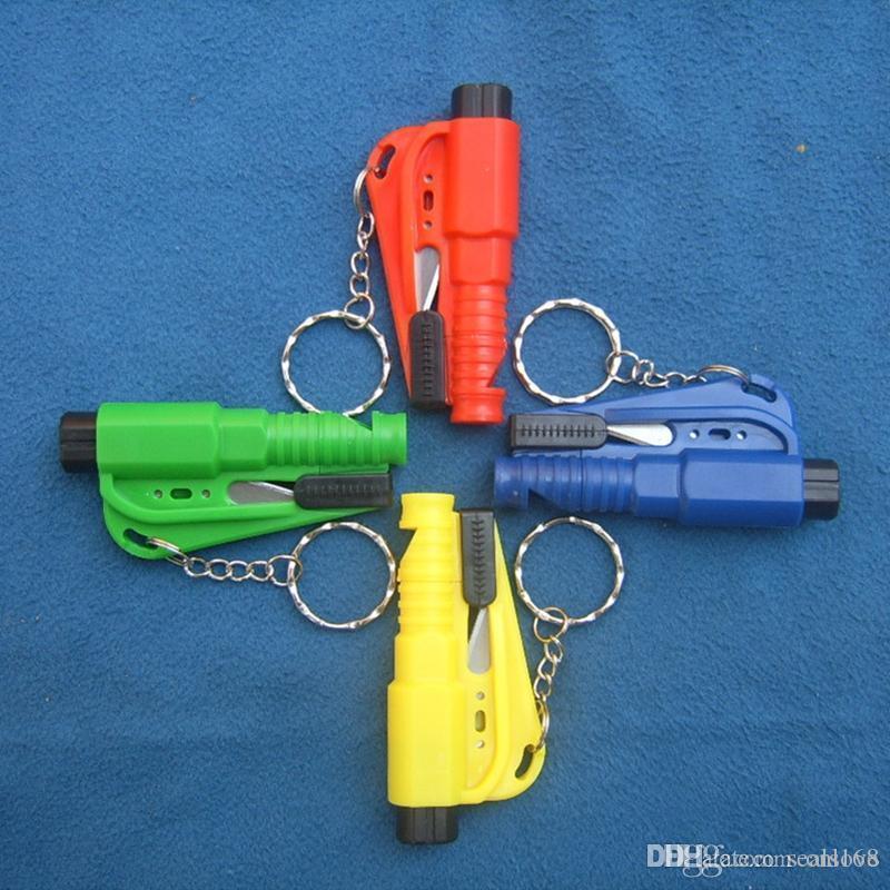 Mini Veicolo di sicurezza Martello Portatile Escape Strumenti di fuga Hammers Finestra Breaker multifunzionale Mini HHXD24354