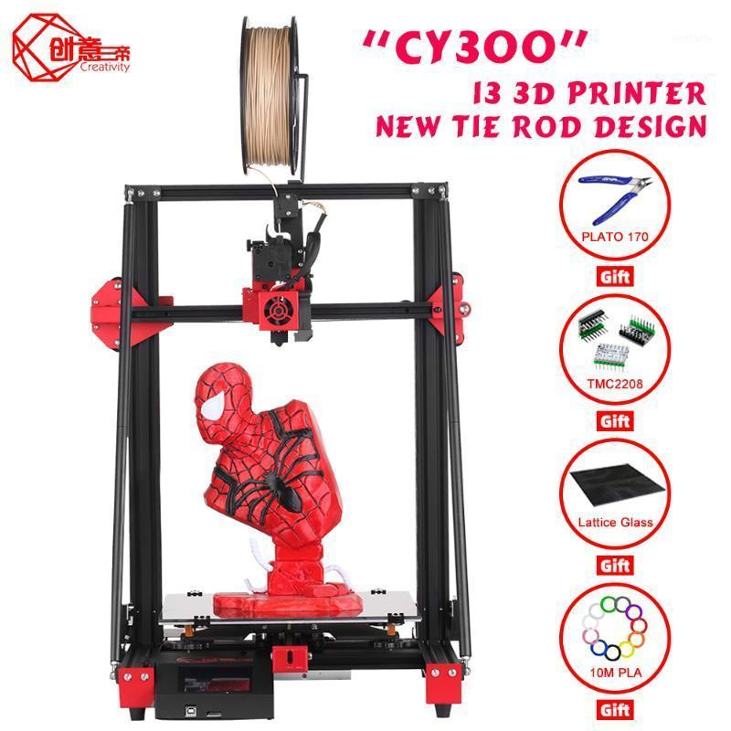 Creatividad Kit de barra de corbata de impresora más nueva I3 FDM CY300 Tamaño grande 300x300x400 Placa base silenciosa con TMC22081