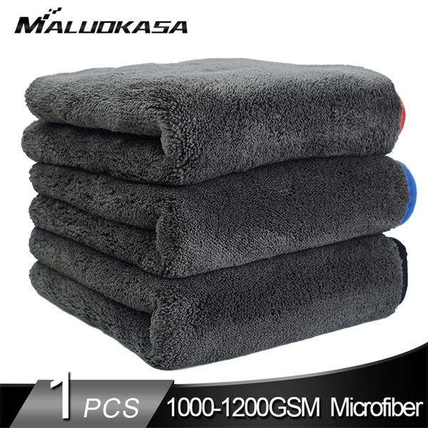 Wash 1200GSM Detaillierung Mikrofaser Handtuch Reinigung Trocknung Thick Waschen Rag für Fahrzeuge Küche Autopflege-Tuch-C1007