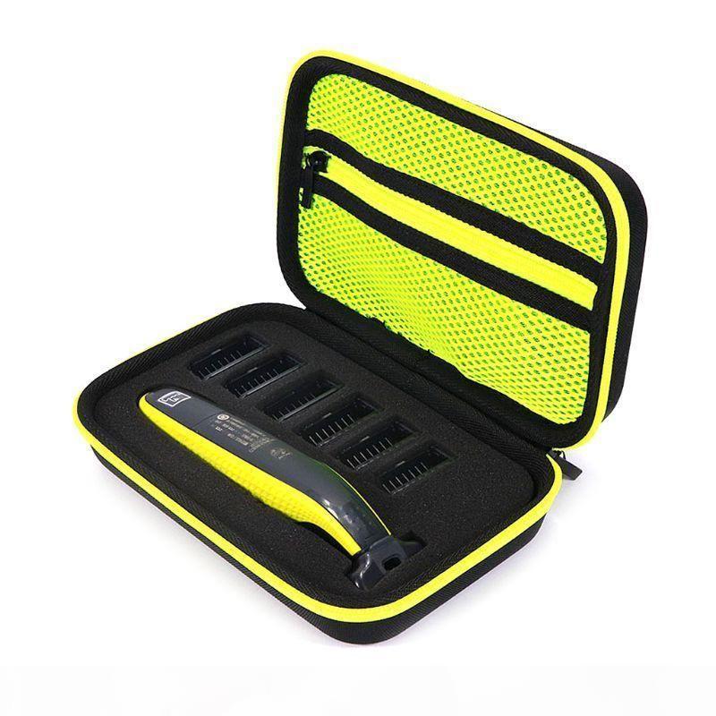 1pcs 전기 면도기 면도기 상자 EVA 하드 케이스 트리머 면도기 파우치 여행 주최자 필립스를위한 가방을 들고