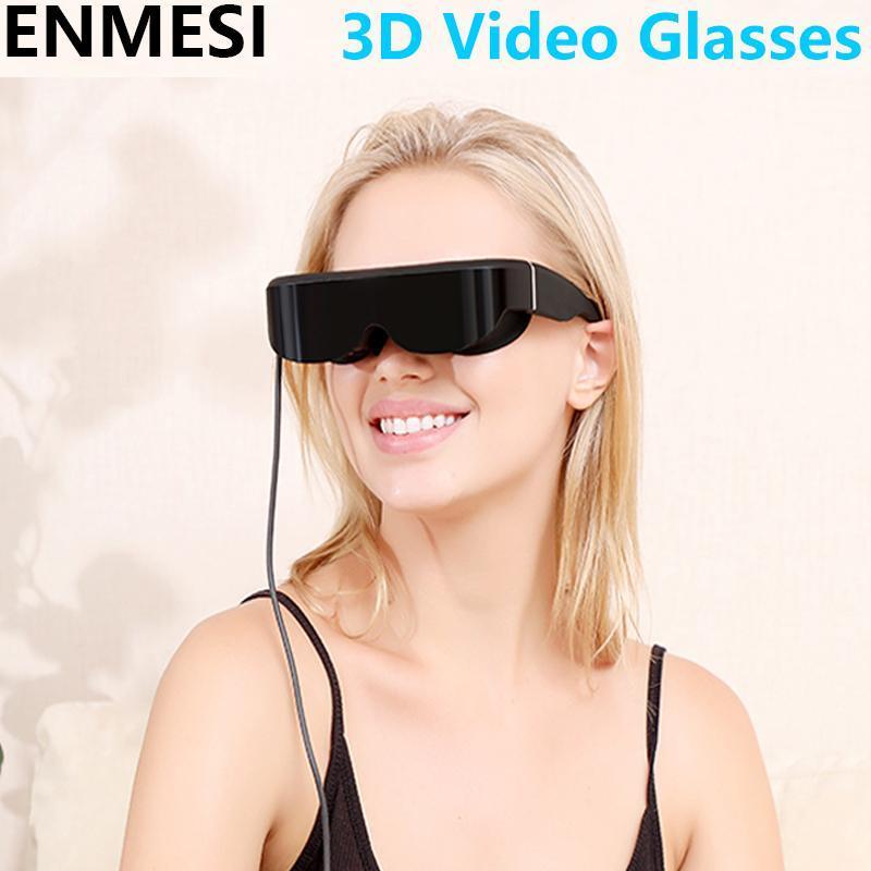 Occhiali Enmesi Adattarsi a più dispositivi Vision Vision Schermo ampio Portable Movie Game Display Video 3D Teatro privato
