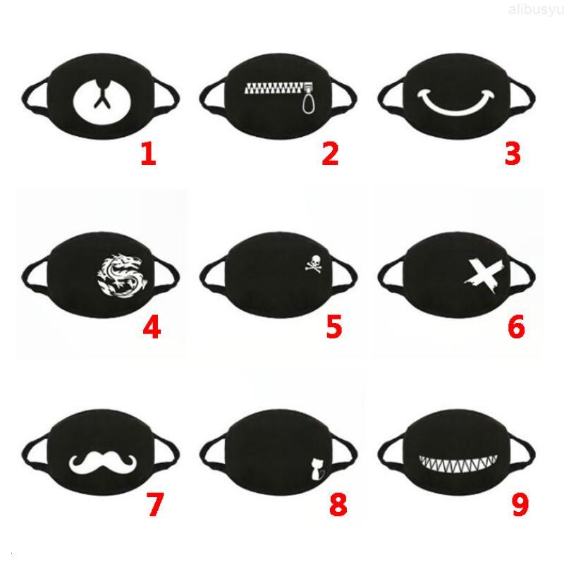 Masks Black Cartoon Designer Design Lives Matter Washable Fashion Cotton Masks Mask for Adults DHL Shipping