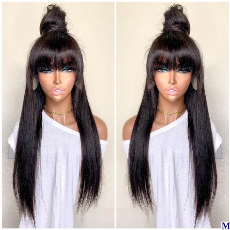 4x4 ipek üst tam dantel insan saç peruk patlama ile tutkalsız dantel ön saçak peruk doğal saç çizgisi remy 360 frontal