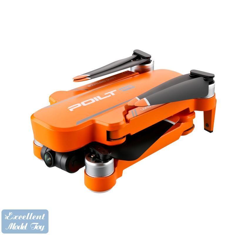 JJRC-X17 6K كاميرا مزدوجة 5 جرام واي فاي بدون طيار، 2 محور gimbal المضادة للاهتزاز، محرك فرش، GPS الذكية تتبع، عودة الطاقة المنخفضة، وقت ذبابة 23 دقيقة، 2-1