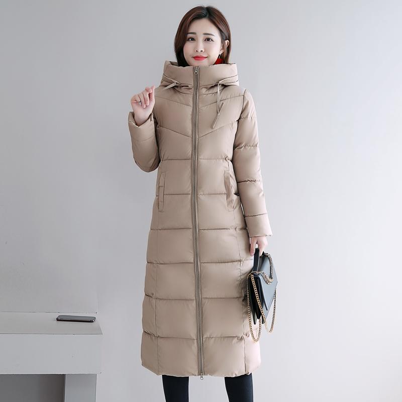 Mulheres para baixo parkas plus size 4xl 5xl 6xl womens jaquetas de inverno com capuz carrinho de algodão acolchoado casaco feminino mulheres longas parka quente thicke