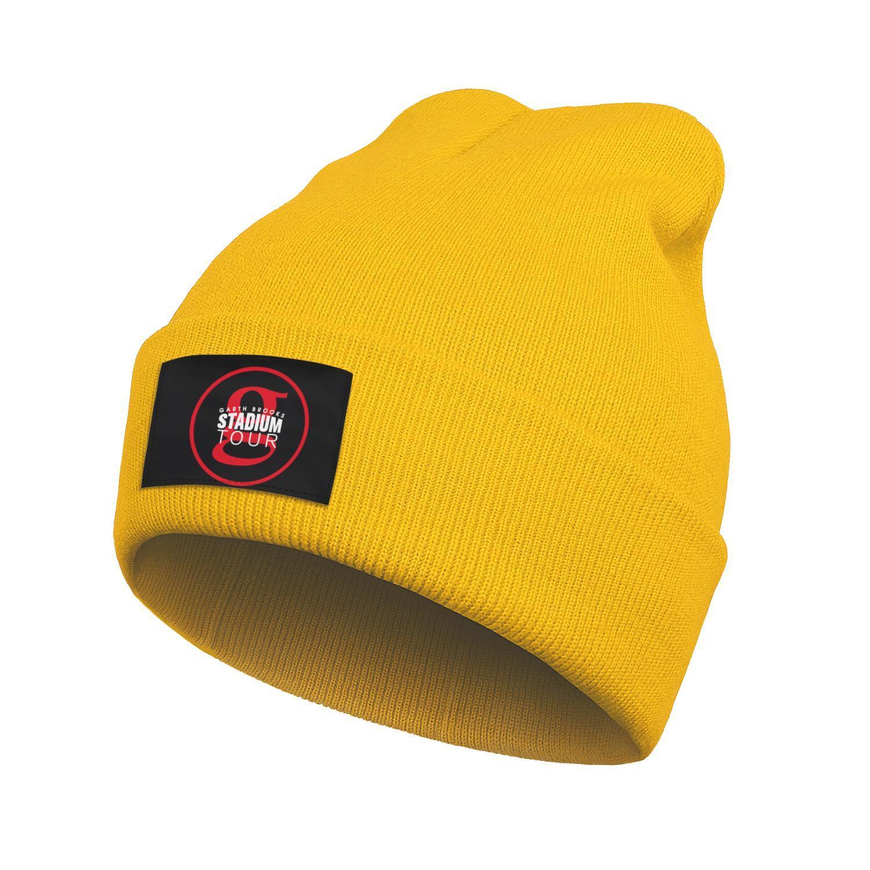 Mens Women Fashion Beanie Skull Hats Garth Brooks STADIUM TOUR Ski Warm Dad Knitted Cap Stadium Tour