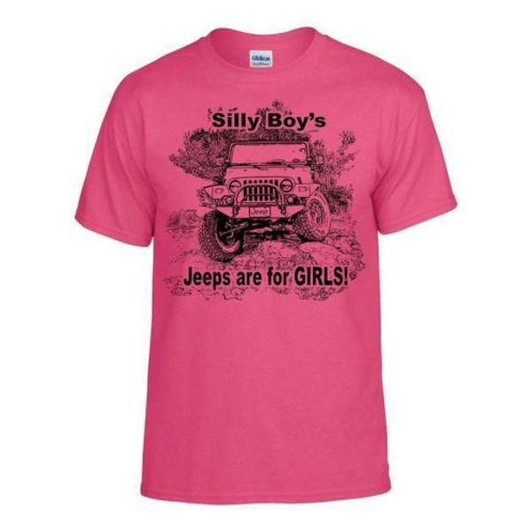 Tops Estate raffreddare T-shirt divertente sciocco ragazzi jeep sono per le ragazze maglietta super soft trasporto veloce