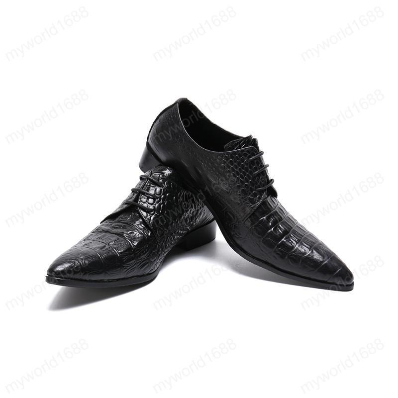 Ретро стиль Мужчины Узелок Оксфорд обувь Британский стиль Остроконечные Toe Мужчины Броги из натуральной кожи большого размера мужчин офиса обувь