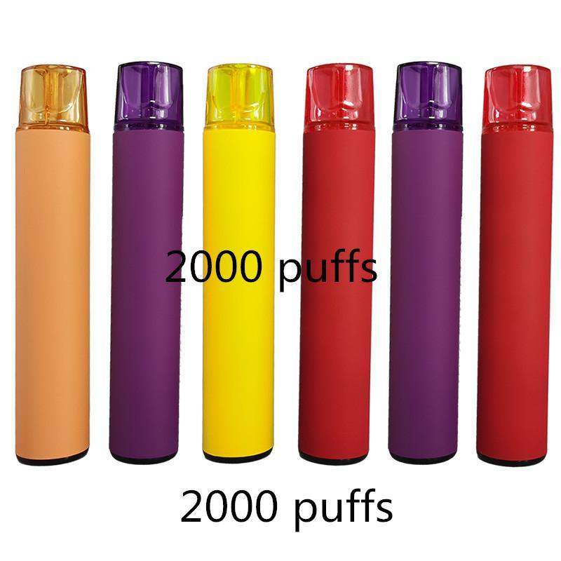 2000 Puffs Dispositif de pood jetable jetable max avec code de sécurité 1200mAh stylo vape vide Vape Cartouche d'emballage sur mesure