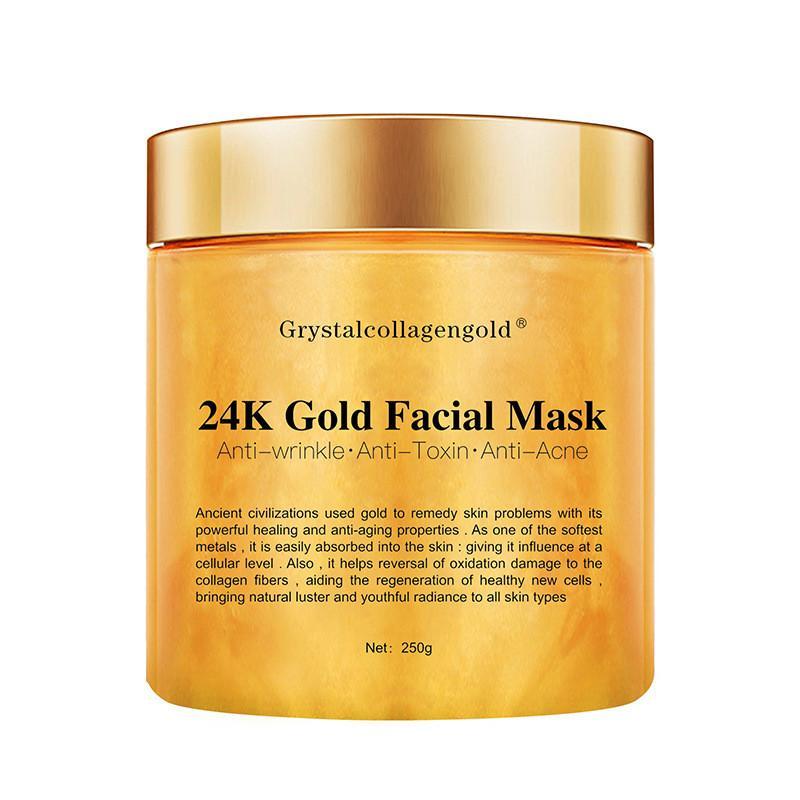 24K collagene Maschera di fango Pure Maschera di fango corpo Naturals minerale 24K per 6pcs trattamento viso