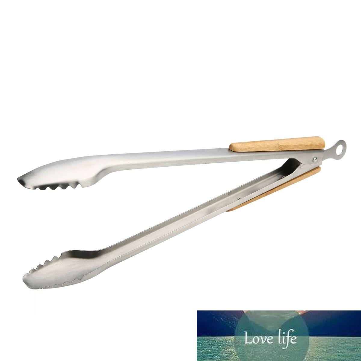 Acero Inoxidable NON Pinzas para Parrilla De Barbacoa 10 Pulgadas Pinzas De Cocina De Metal para Accesorios De Cocina Y Parrilla
