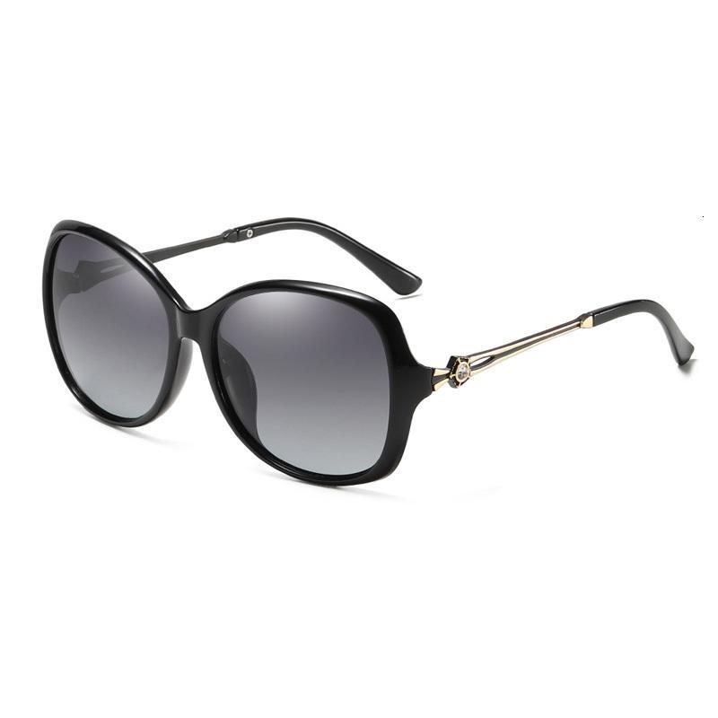Oversize Souson Brand For Style Fashion Outdoor 2019 Women Sunglasses Polarized Sun Shade Uexhk