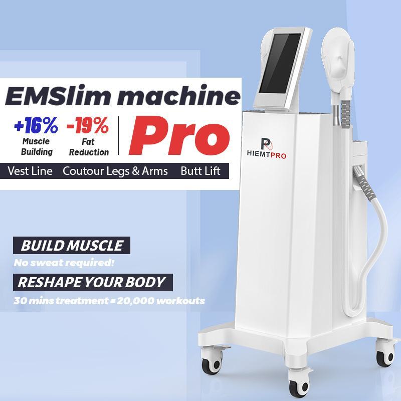 ABS 슬리밍 EMS 근육 자극기 기계 7 Tesla 고강도 집속 전자기 Emslim 장비 무료 배송
