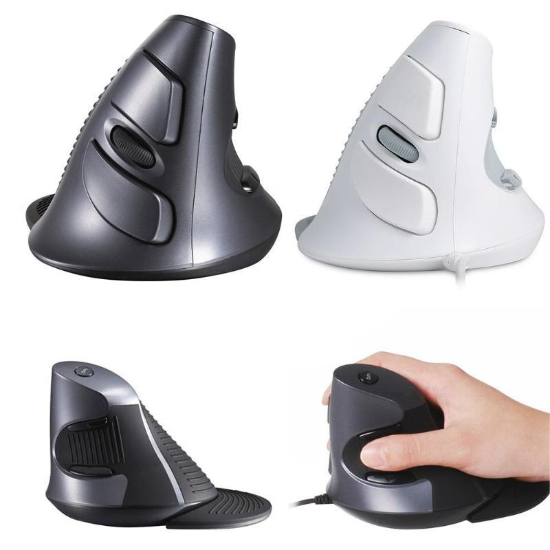 Ergonomic Office Home Vertical Mouse 6 Buttones 600/1000/1600 DPI PC Optical Mice