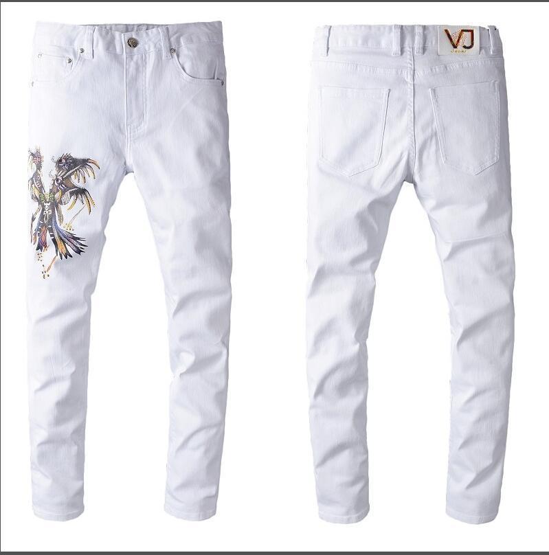 NEW STYLE MARCA DOS HOMENS DO LAVADO DIESEL magros ocasionais leve de verão DENIM denim stretch MAGRO jeans reta BIKER MAGRO JEANS TAMANHO 8028