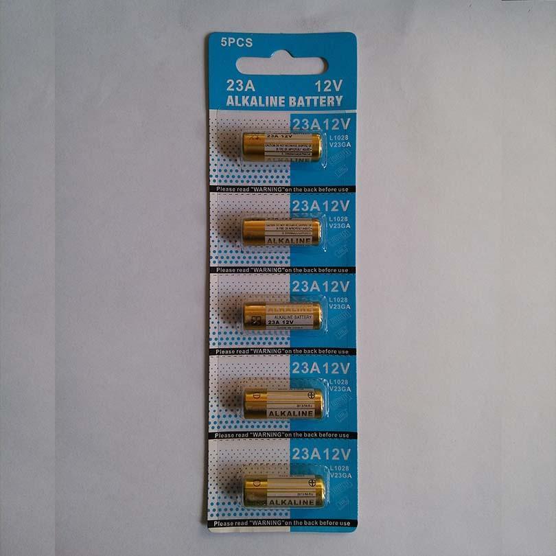 1000pcs / lot 0% Mercury 12V 23A A23 Alkalibatterien für Autoschlüssel Türkeller Fernbedienung