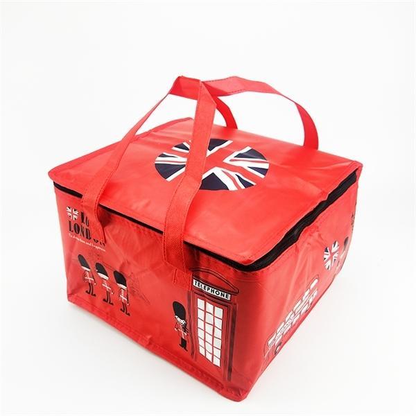 قابلة لإعادة الاستخدام غير المنسوجة حقيبة برودة كعكة البيتزا أكياس جديدة الناقل دافئة باردة حقيبة الطعام الشراب العزل الحراري BWSH08 Q1104