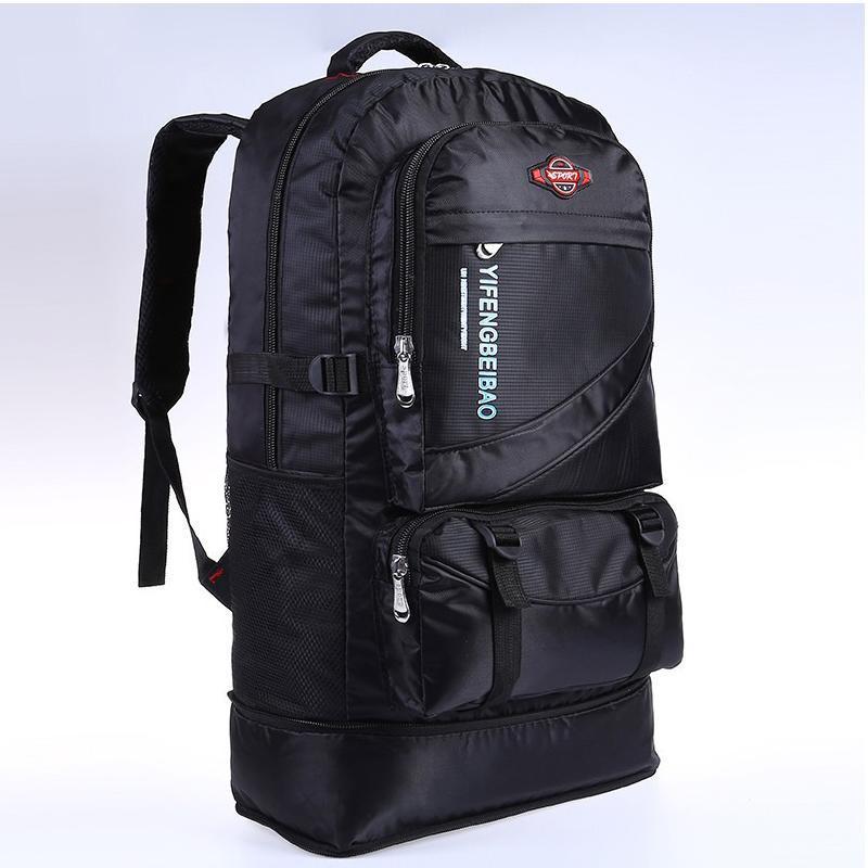 Рюкзак для мужского нейлонового водонепроницаемого туристического пакета альпинизм альпинизм