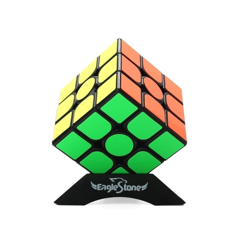 Conjunto de Cubo de Velocidade Eagletone de Pirâmide Stickless Magic Cube Bundle Enigma Educacional Cube Brinquedos Para Crianças Adultos 201224
