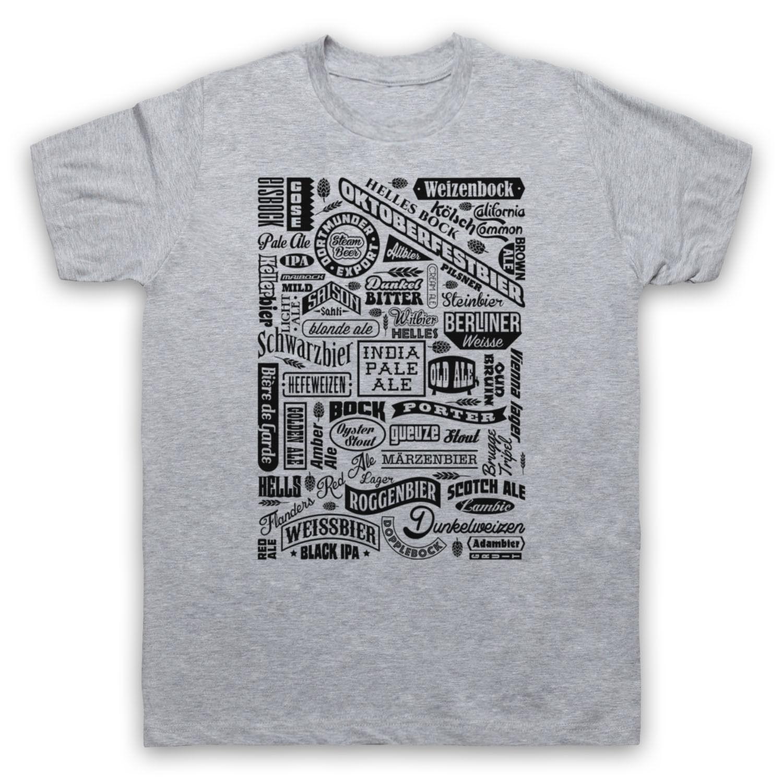 Hombre de las camisetas de moda 2019 los tipos de naves beber cerveza amante de la tipografía auténtica cerveza para mujer para hombre KIDS camiseta del deporte Sudadera con capucha