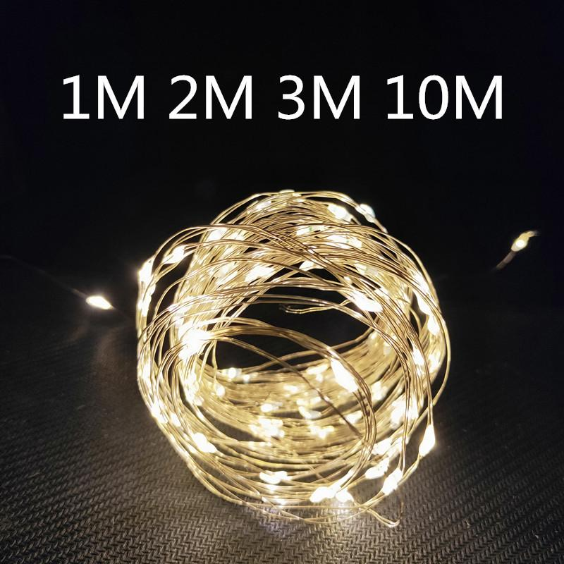 New Year 2020 Copper Wire Light String Christmas Decorations for Home Christmas Ornaments Christmas Tree Decoration Navidad 2019 1012